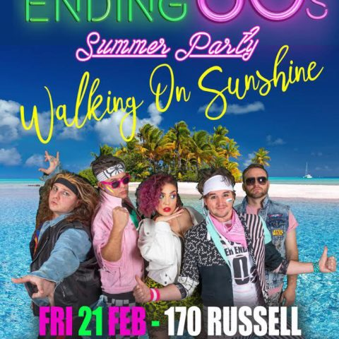 Never Ending 80s party at Geelong live music venue